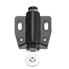 Magnetic Touch Catch Latch Closures Nylon Black for Cabinet Door Shutter