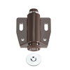 Magnetic Touch Catch Latch Closures Nylon Brown for Cabinet Door Shutter