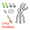 Stainless Steel Door Magnetic Catch Door Stopper Bedroom Door Ultra Mini 2pcs