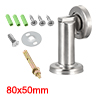 Stainless Steel Door Magnetic Catch Holder Stopper Doorstop Brushed Conceal Screw Floor Mount