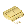 Toggle Latch, 31mm Retro Style Golden Decorative Hasp Jewelry Suitcase Box Catch w Screws