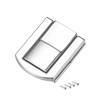 Toggle Latch, 31mm Retro Style Silver Tone Decorative Hasp Jewelry Suitcase Box Catch w Screws