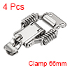 4pcs 304 Stainless Steel Spring Loaded Toggle Latch Catch Clamp 66mm