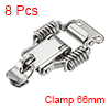 8pcs 304 Stainless Steel Spring Loaded Toggle Latch Catch Clamp 66mm