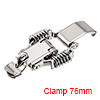 Iron Spring Loaded Toggle Latch Catch Clamp 76mm