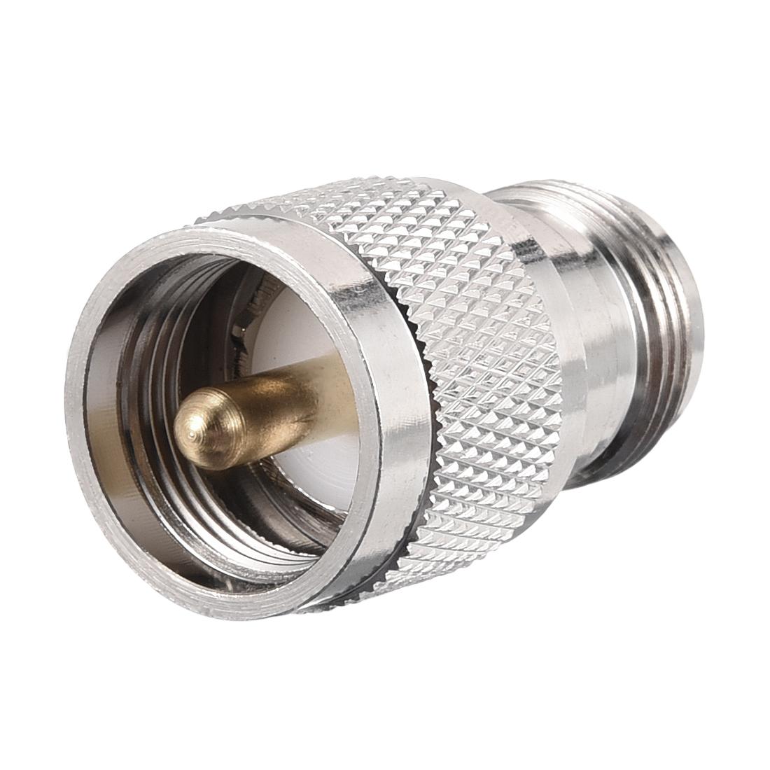 UHF Male to N Female 5/8-24 RF Coaxial Coax Adapter 1pcs