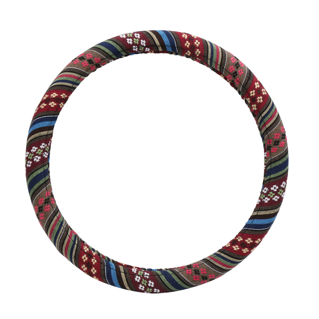 Ethnic Style Steering Wheel Cover Protector for Vehicle Car 39-40CM