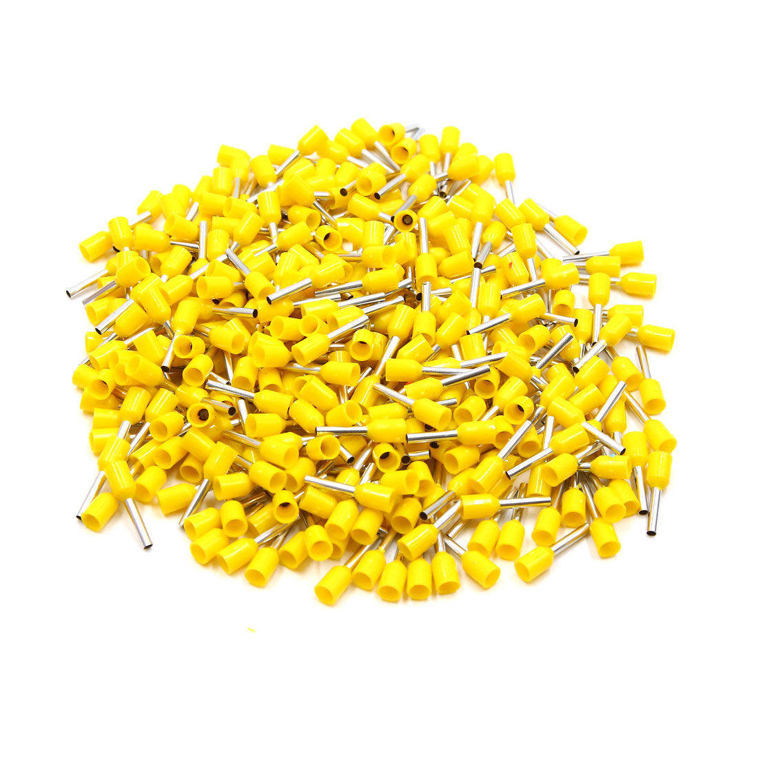 360pcs Yellow Insulated Copper AWG 16 Wire Crimp Connector Cord Pin End Terminal