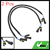 "2pcs 26"" DC 12V HID Xenon Ballast to Bulb High Voltage Extension Wire Cable"