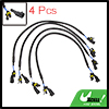 "4pcs 26"" DC 12V HID Xenon Ballast to Bulb High Voltage Extension Wire Cable"