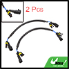 "2pcs 14"" DC 12V HID Xenon Ballast to Bulb High Voltage Extension Wire Cable"