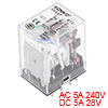HH53P DC 36V Coil 3P3T 11 Pins Electromagnetic Power Relay Green LED