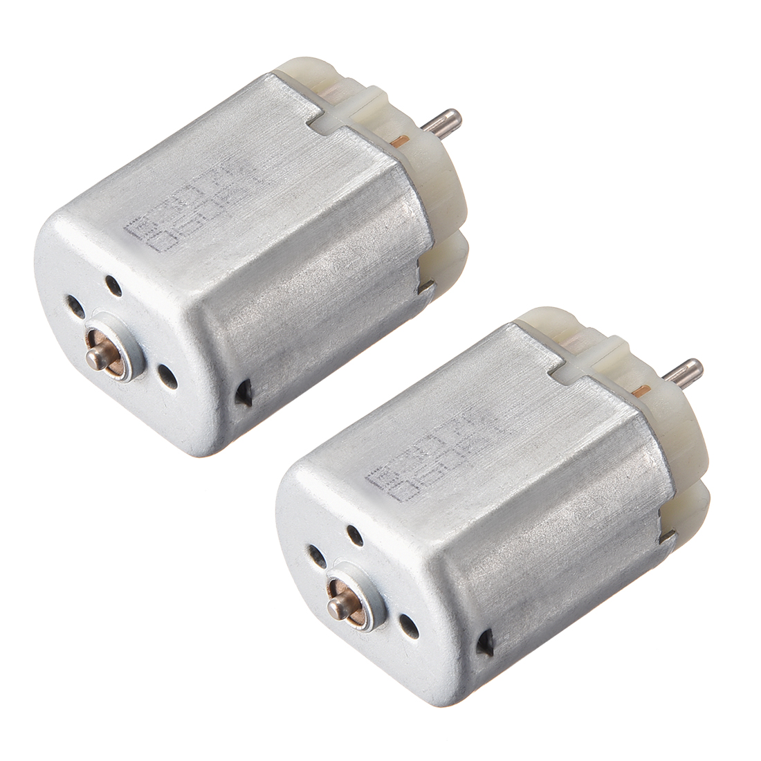 2 Pcs 12V 10000RPM DC Motor for Door Lock Locomotive Rearview Mirror Lock Motors