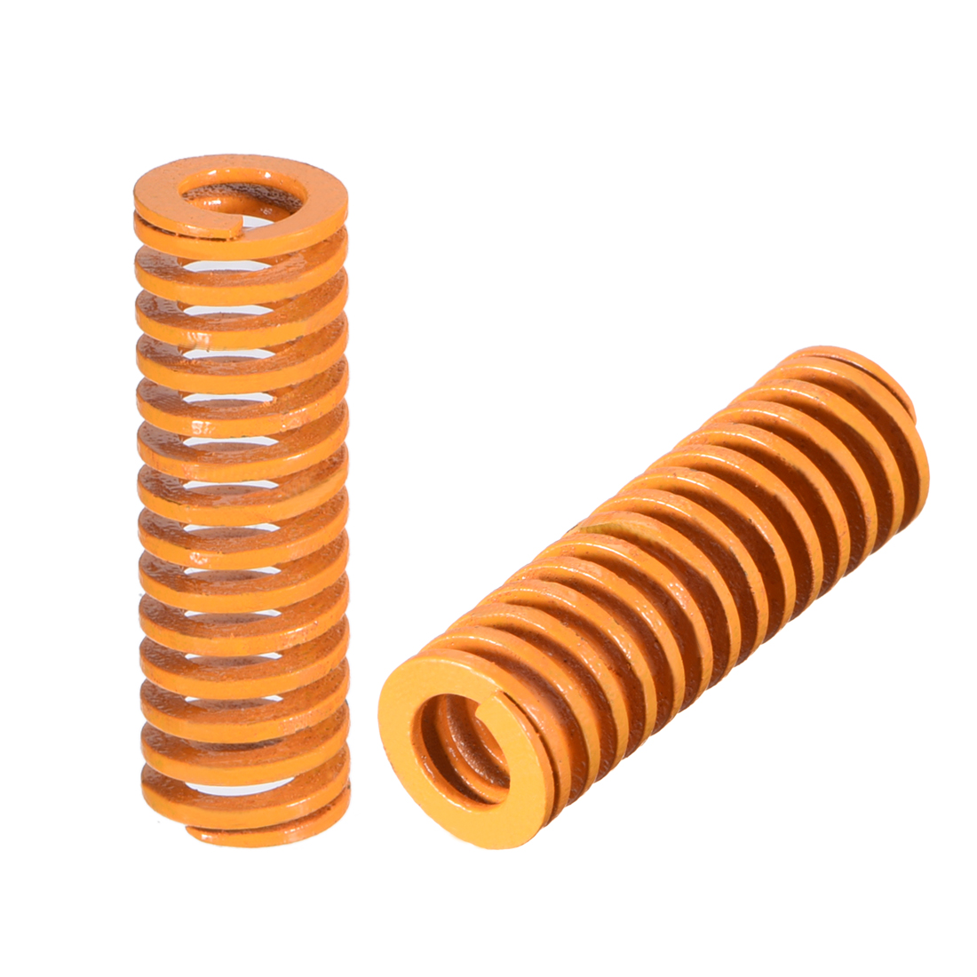 10mm OD 30mm Long Spiral Stamping Light Load Compression Mould Die Spring 2Pcs