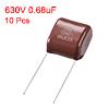 CBB21 Metallized Polypropylene Film Capacitors 630V 0.68uF10 pcs