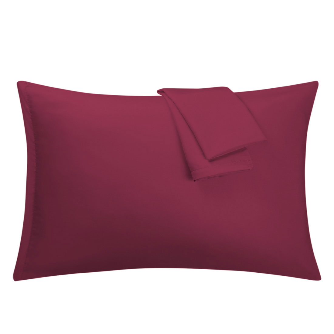Wine Pillowcases Soft Microfiber Pillow Case Cover with Zipper King, 2 Pack