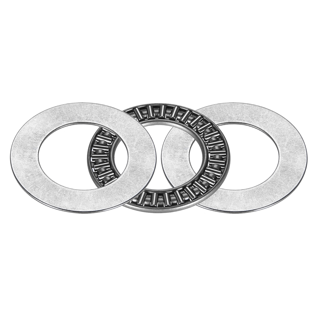 AXK2542+2AS Needle Roller Thrust Bearings with 2 Washers, 25x42x4mm Bearing