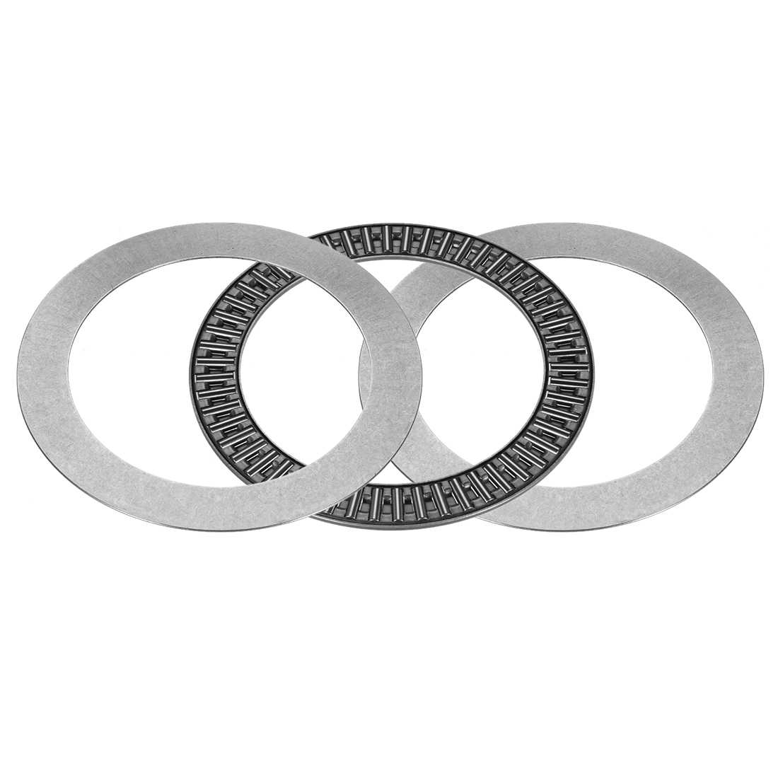 AXK100135+2AS Needle Roller Thrust Bearings with 2 Washers, 100x135x6mm Bearing