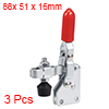 Toggle Clamp TT-101-AI Vertical Quick-Release Hand Tool 80Kg/176Lbs Capacity3pcs