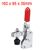 Toggle Clamp 101-DI Vertical Quick-Release Hand Tool 127Kg/279Lbs Capacity