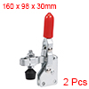 Toggle Clamp 101-DI Vertical Quick-Release Hand Tool 127Kg/279Lbs Capacity 2pcs