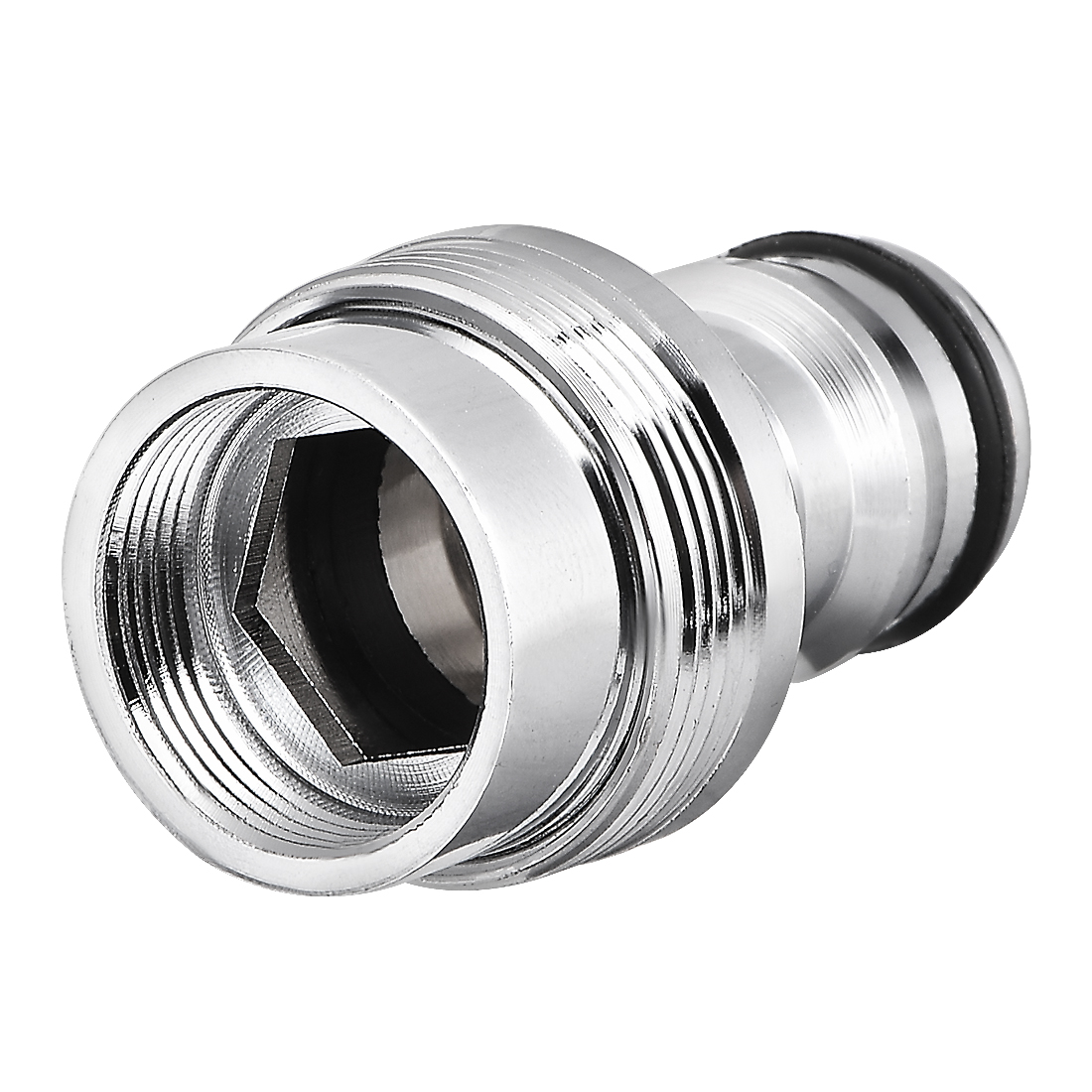 Brass Garden Hose Quick Connector Faucet Nozzle Adapter 18mm Female Thread