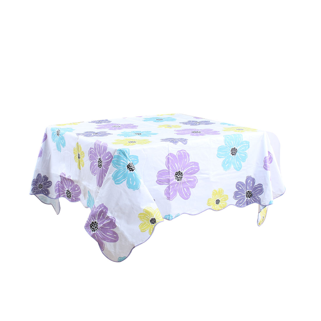 """Tablecloth PVC Oil Stain Resistant Wedding Camping Table Cloths 60"""" x 60"""",#5"""