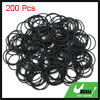 Black NBR O-Ring Seal Gasket Washer for Automotive Car 32.5 x 1.8mm 200pcs