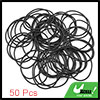 Black NBR O-Ring Seal Gasket Washer for Automotive Car 42.3 x 1.8mm 50pcs