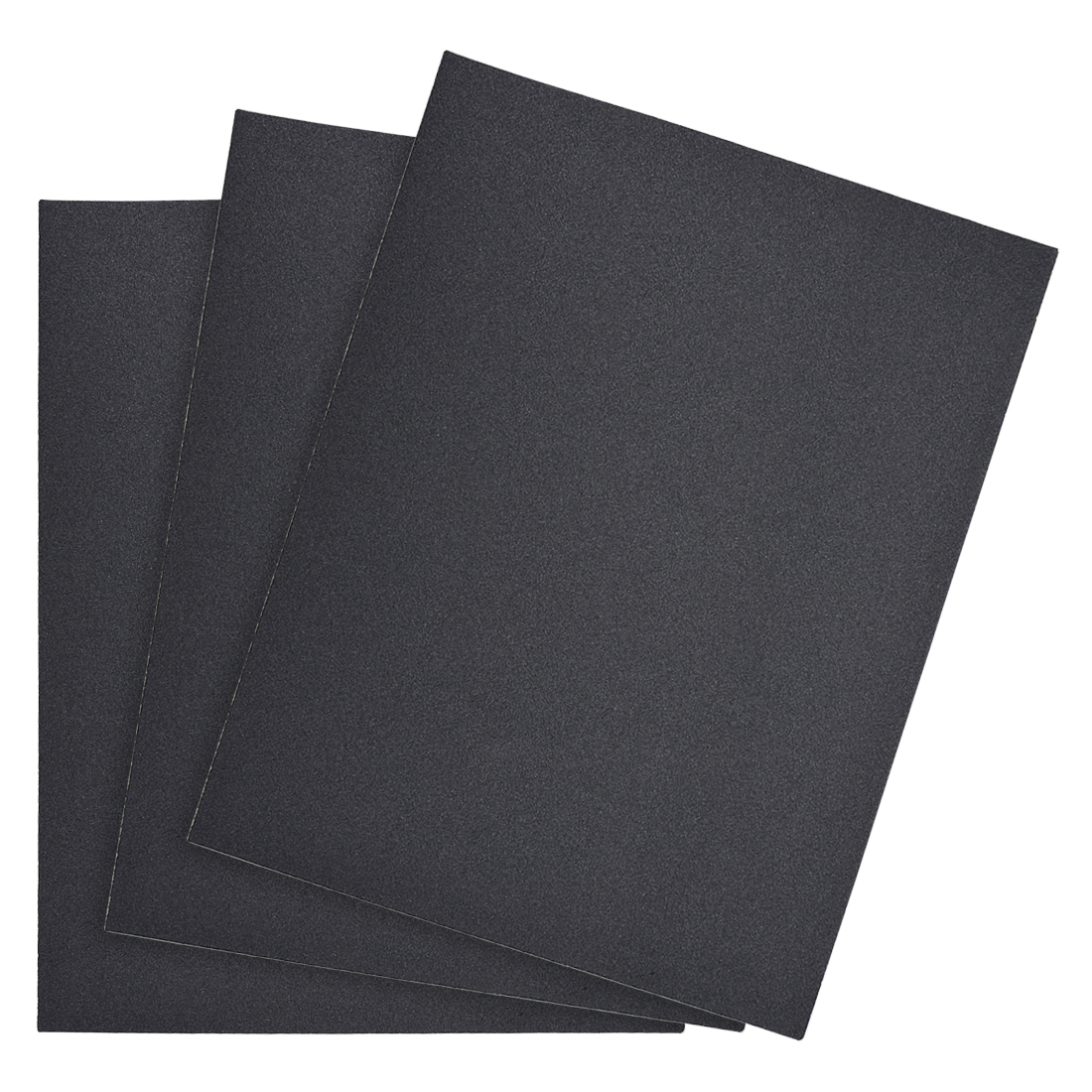 Waterproof Sandpaper, Wet Dry Sand Paper Grit of 220, 11 x 9inch 3pcs