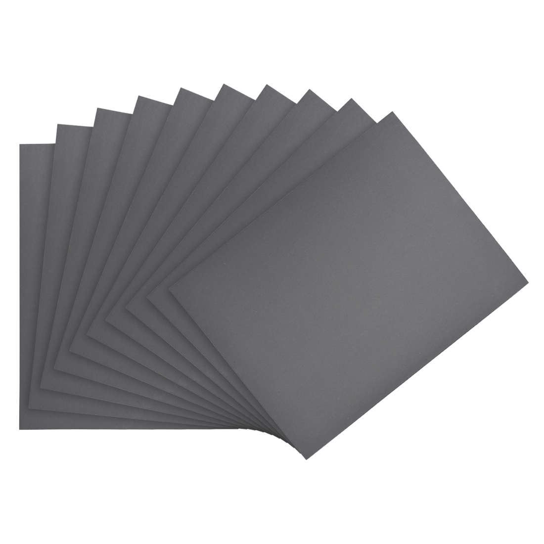Waterproof Sandpaper, Wet Dry Sand Paper Grit of 2000, 11 x 9inch 10pcs