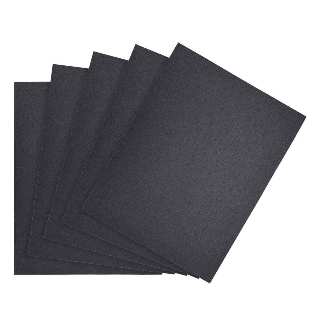 Waterproof Sandpaper, Wet Dry Sand Paper Grit of 180, 11 x 9inch 5pcs