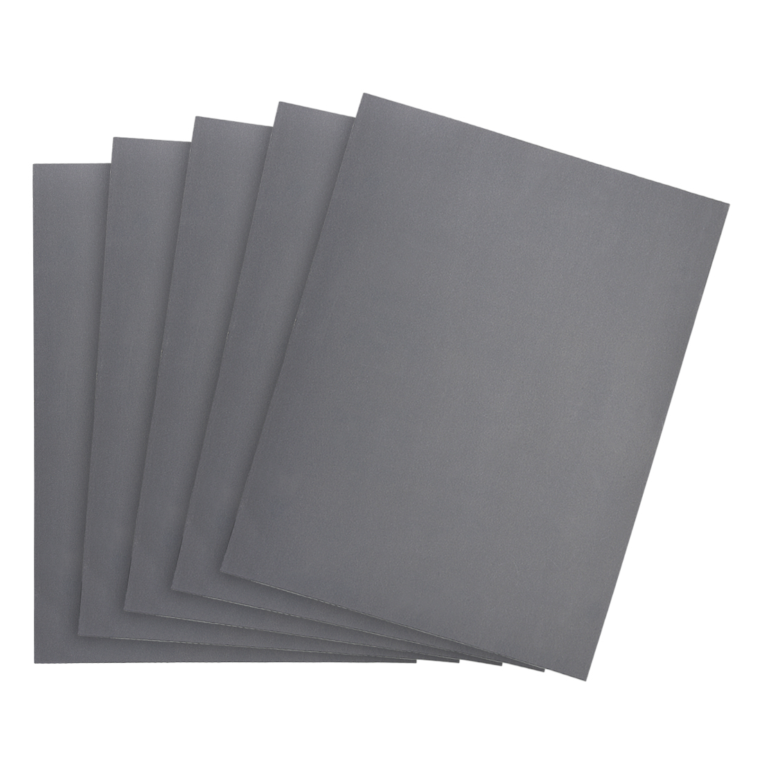 Waterproof Sandpaper, Wet Dry Sand Paper Grit of 1500, 11 x 9inch 5pcs