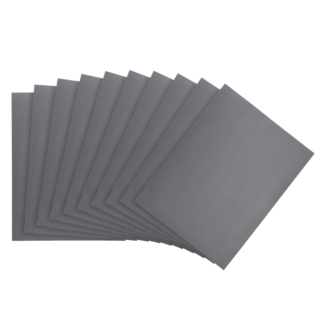 Waterproof Sandpaper, Wet Dry Sand Paper Grit of 1500, 11 x 9inch 10pcs
