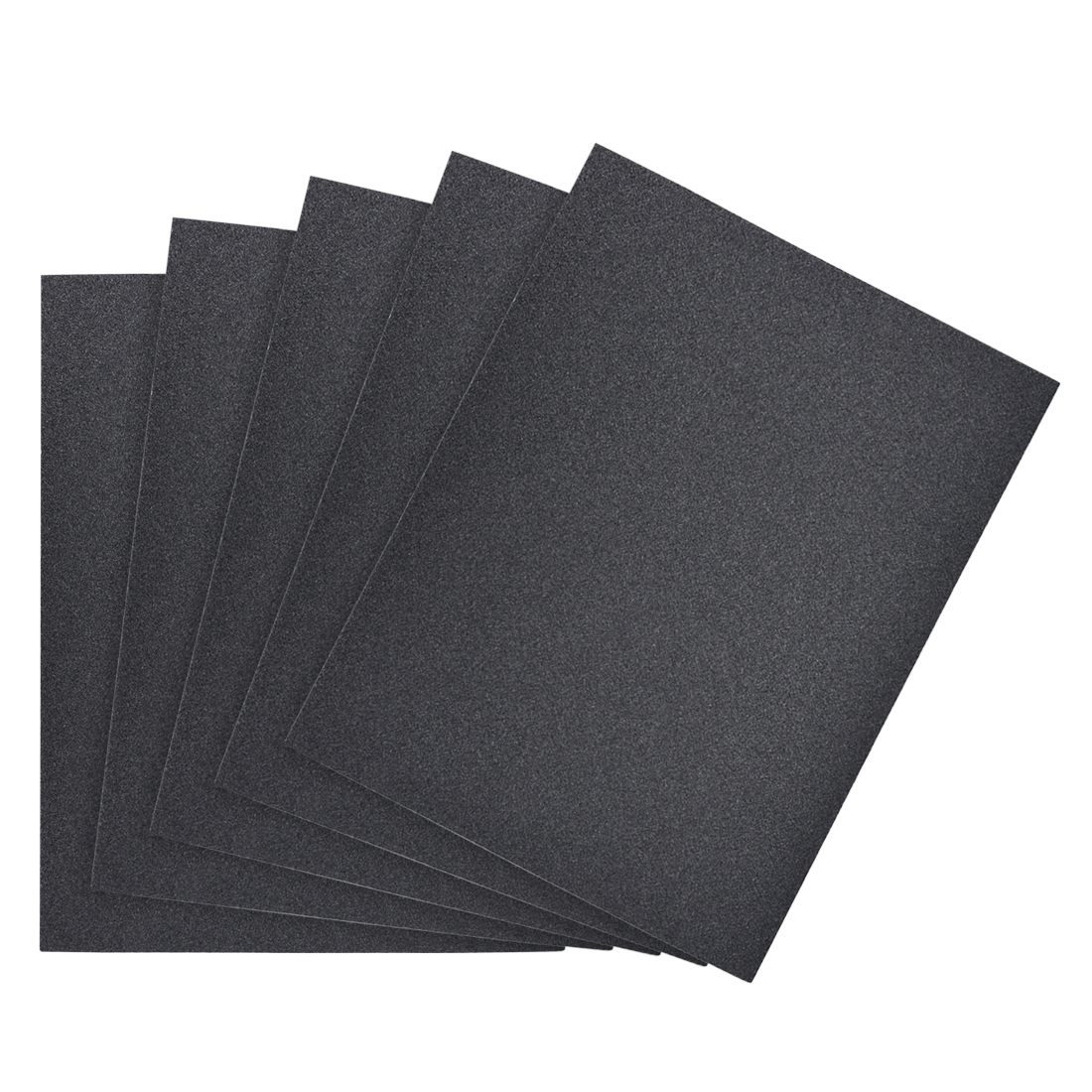 Waterproof Sandpaper, Wet Dry Sand Paper Grit of 120, 11 x 9inch 5pcs