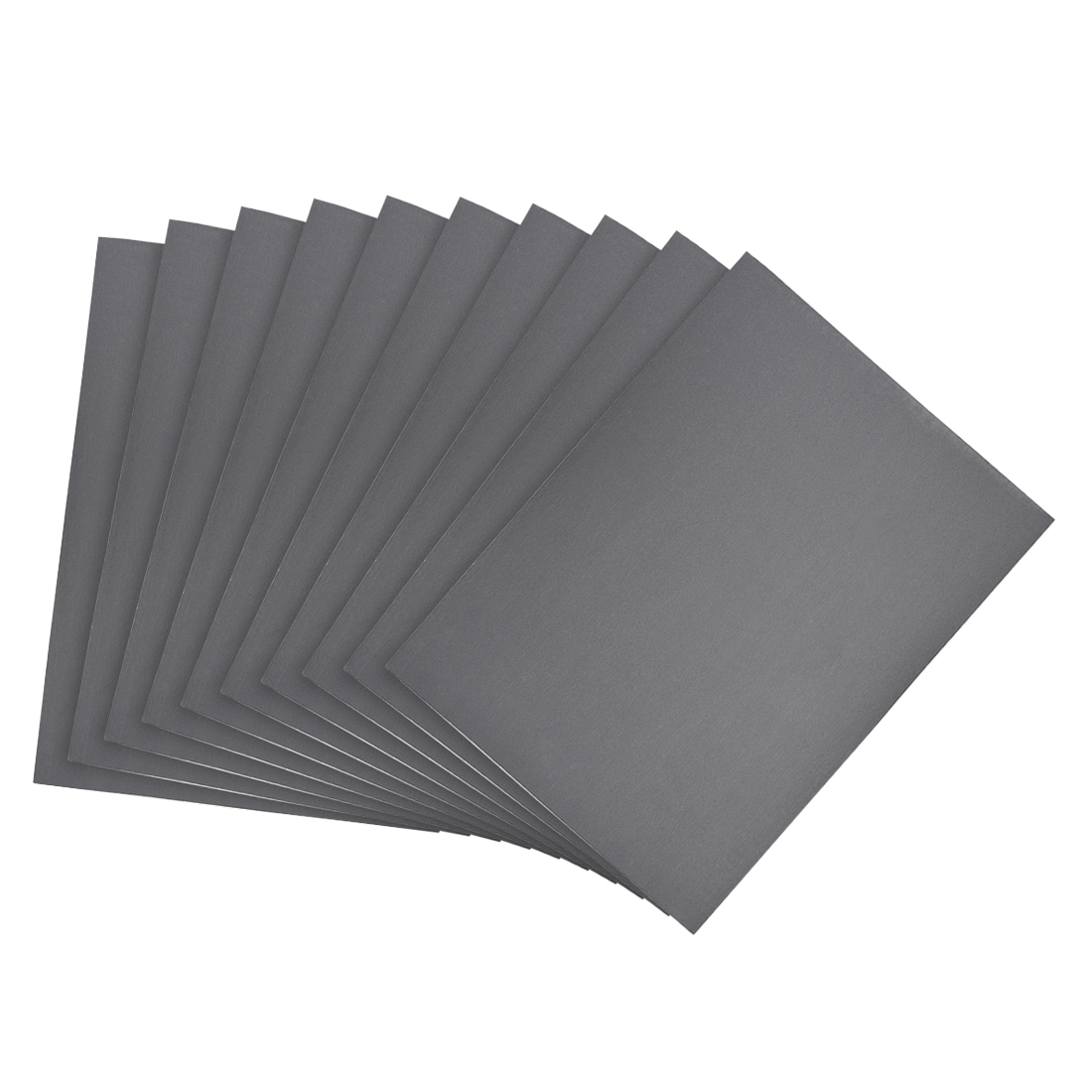 Waterproof Sandpaper, Wet Dry Sand Paper Grit of 1200, 11 x 9inch 10pcs