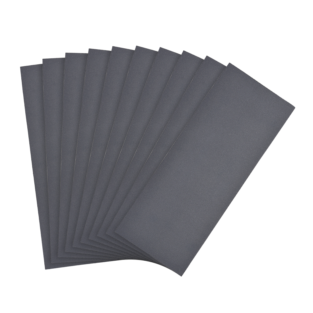 Waterproof Sandpaper, Wet Dry Sand Paper Grit of 800, 9 x 3.7inch 10pcs