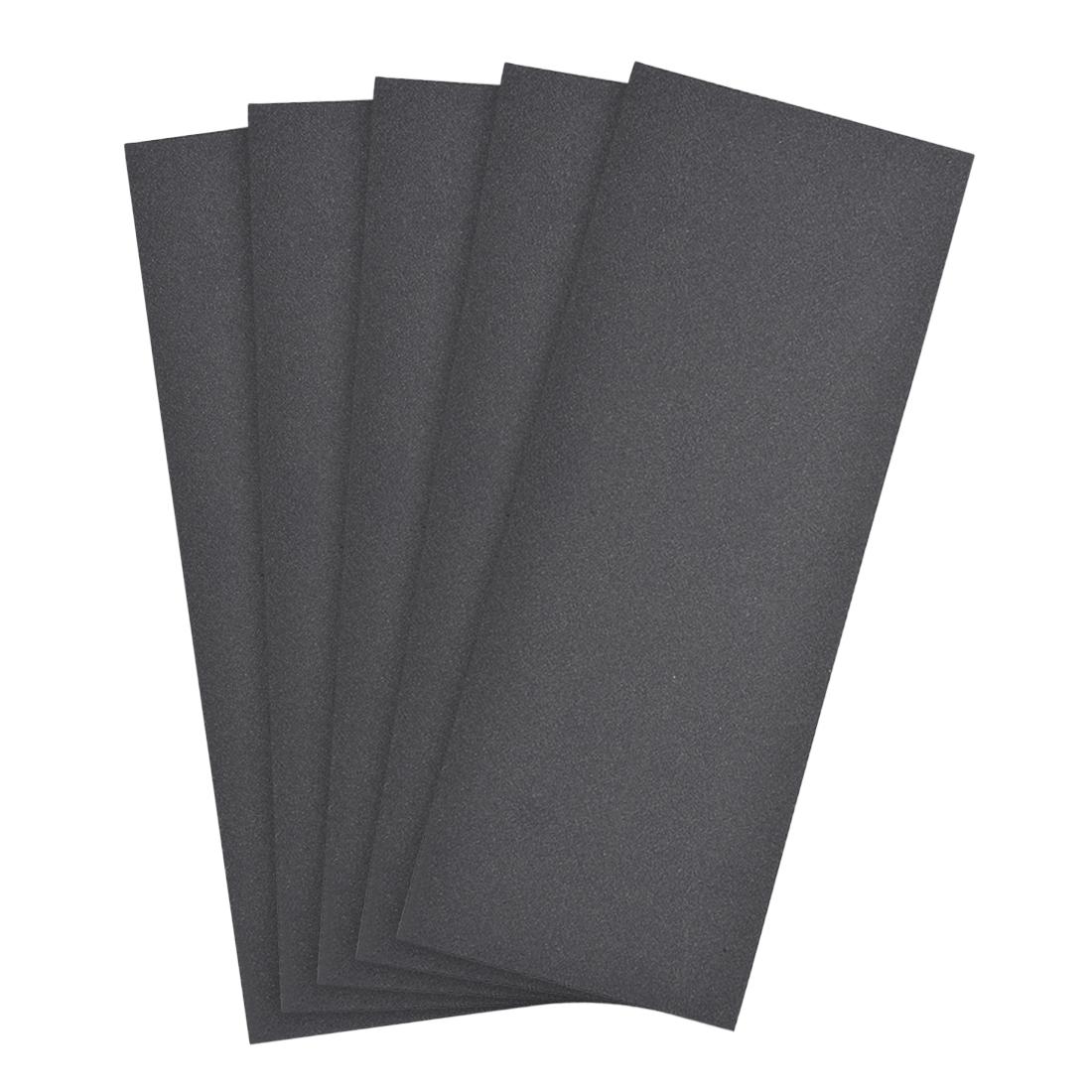 Waterproof Sandpaper, Wet Dry Sand Paper Grit of 500, 9 x 3.7inch 5pcs