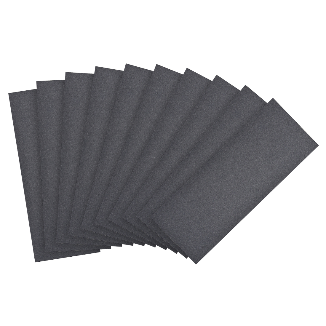 Waterproof Sandpaper, Wet Dry Sand Paper Grit of 400, 9 x 3.7inch 10pcs