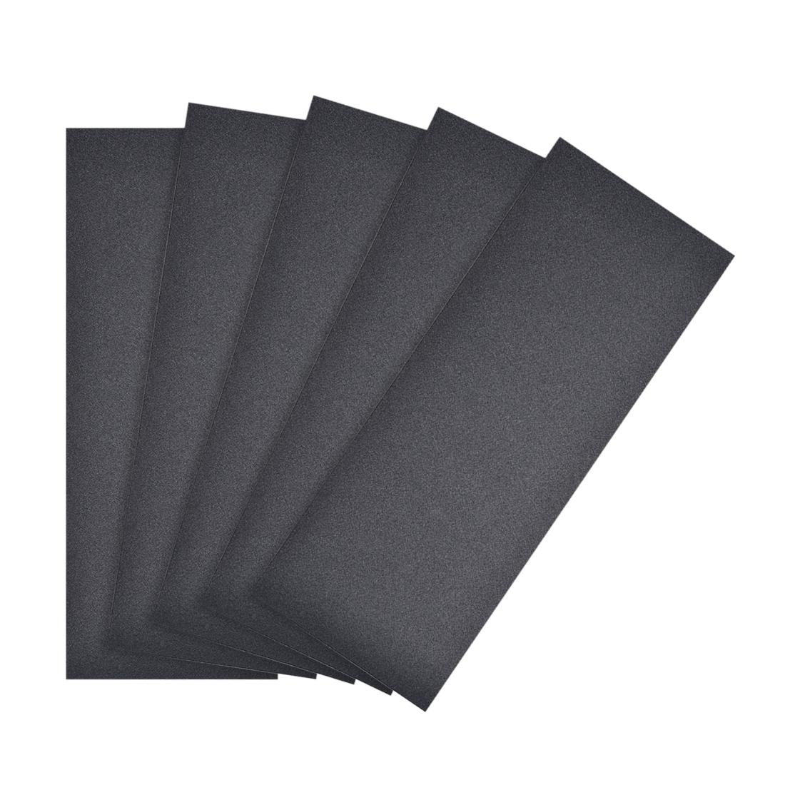 Waterproof Sandpaper, Wet Dry Sand Paper Grit of 280, 9 x 3.7inch 5pcs