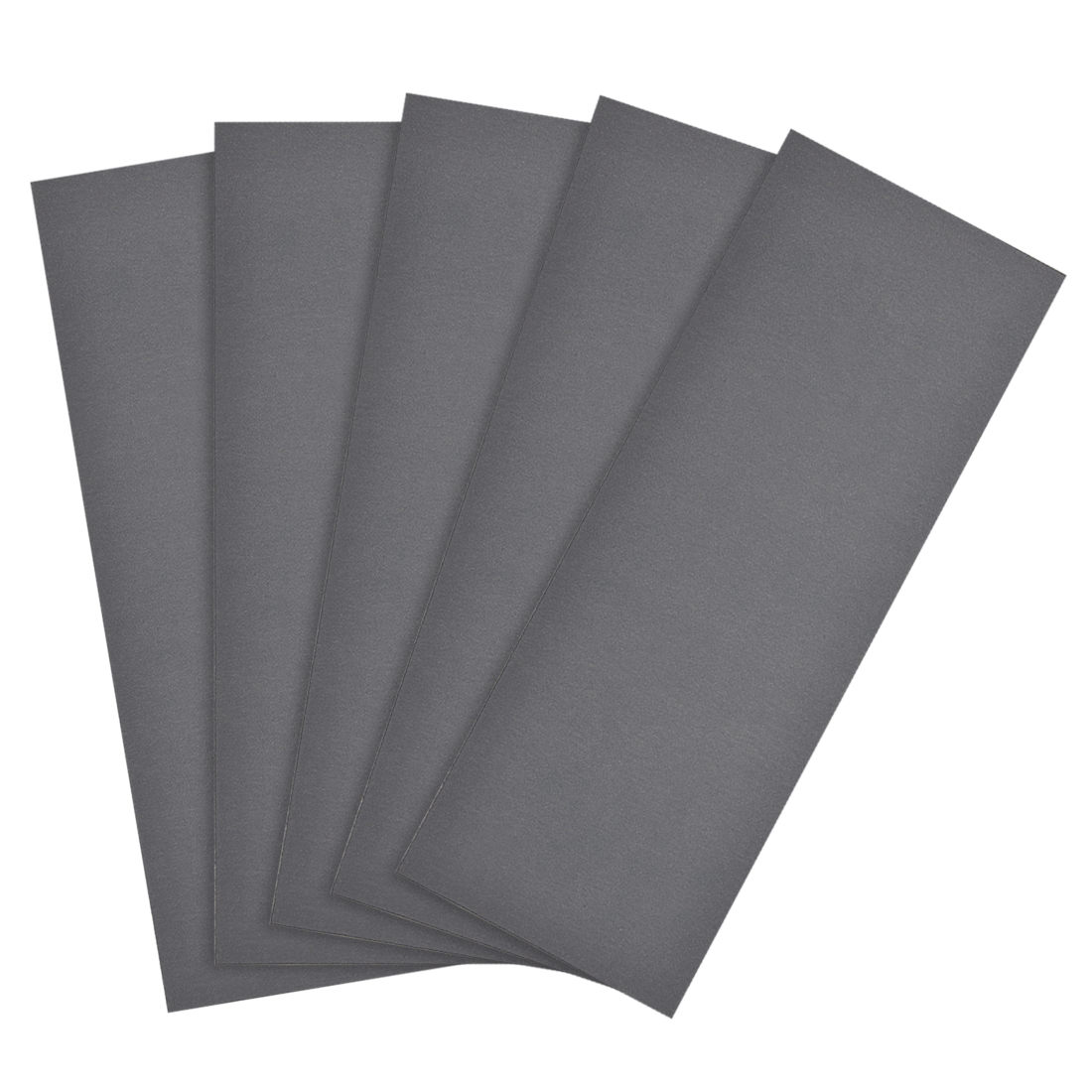 Waterproof Sandpaper, Wet Dry Sand Paper Grit of 1200, 9 x 3.7inch 5pcs