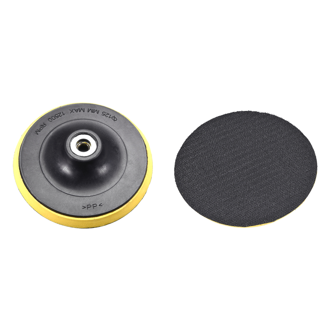"Polishing Disc Suction Cup Self-Adhesive Sticky Disk Sandpaper Sucker 5"" 2pcs"