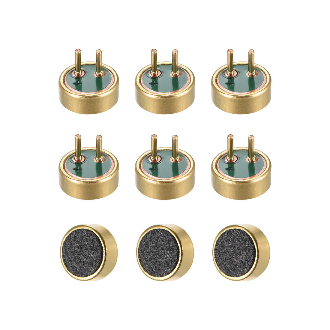 4015 42dB Electret Microphone Pickup Condenser MIC with Pins 9 Pcs