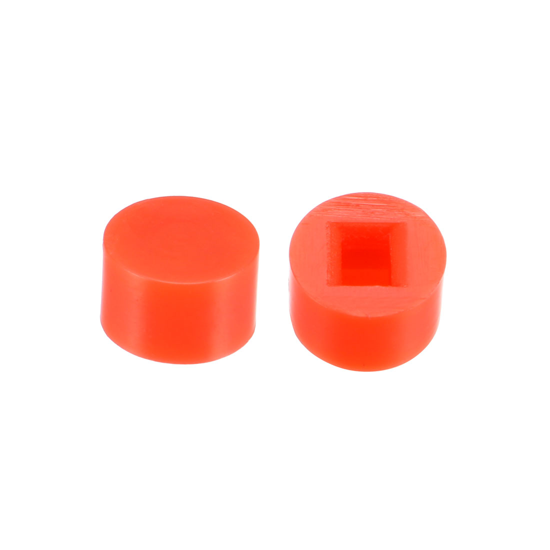 40Pcs 6x3.7mm Pushbutton Switch Caps Cover for 5.8x5.8 Latching Tact Switch Red