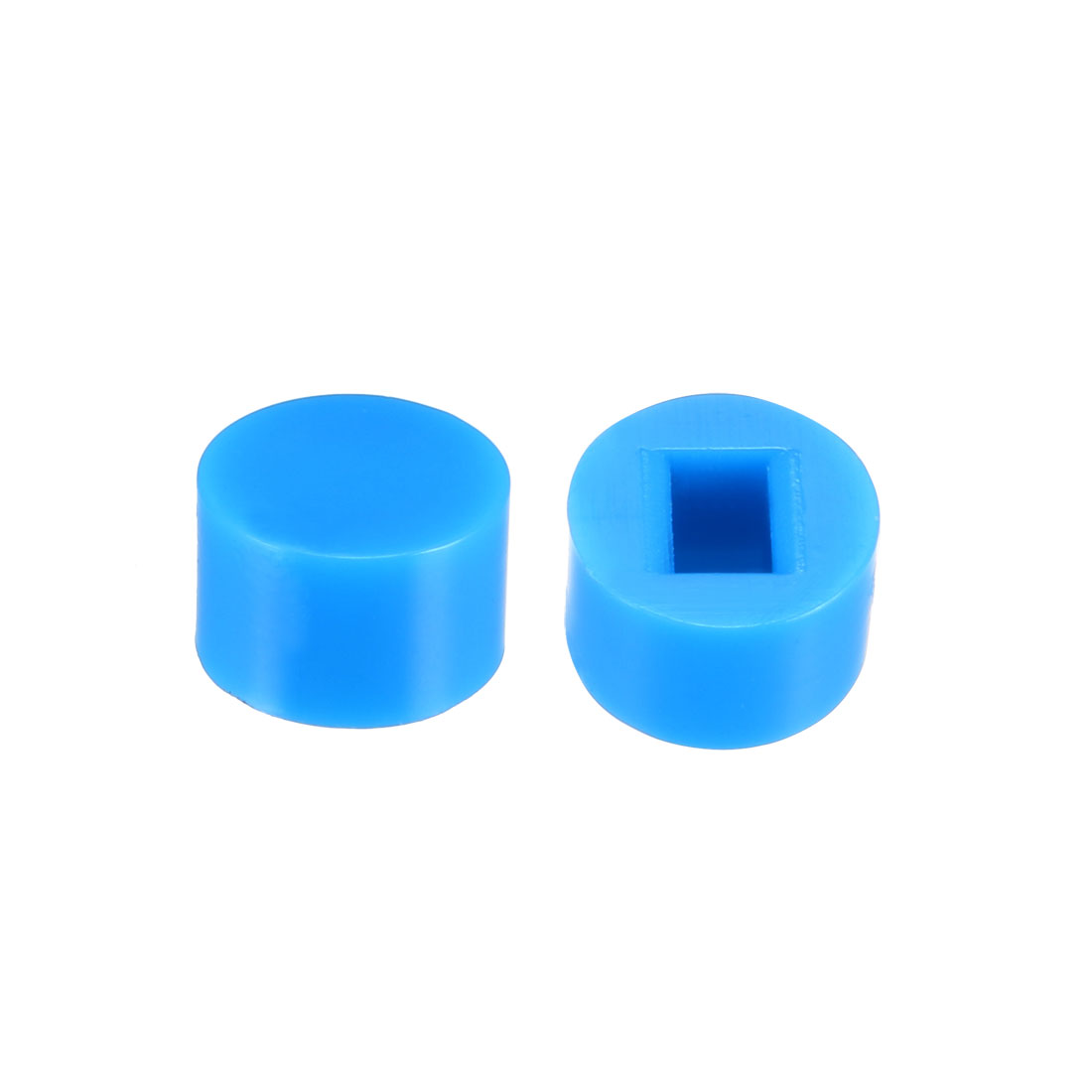 40Pcs 6x3.7mm Pushbutton Switch Caps Cover for 5.8x5.8 Latching Tact Switch Blue