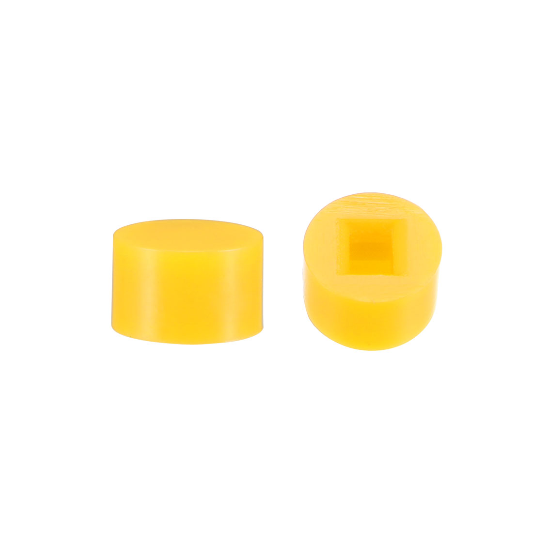 40Pcs 6x3.7mm Pushbutton Switch Cap Cover for 5.8x5.8 Latching TactSwitch Yellow