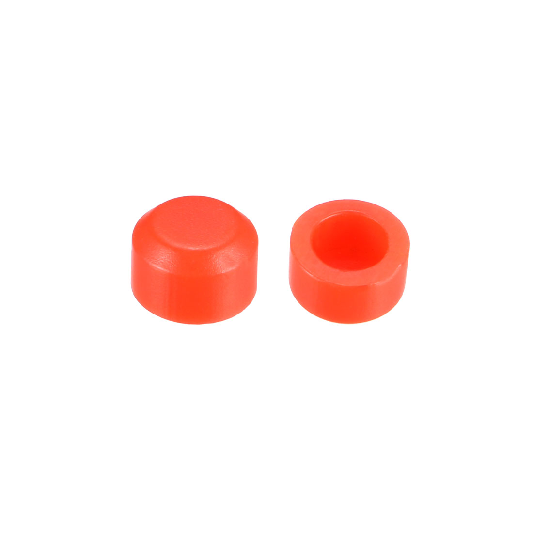 25pcs 3.1mm Hole Dia Pushbutton Caps Cover Keycaps Red for 6x6 Tactile Switch