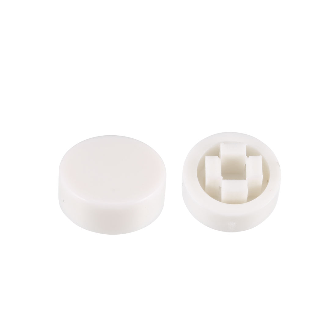 20Pcs Pushbutton Tactile Switch Caps Cover White for 6x6x7.3mm Tact Switch
