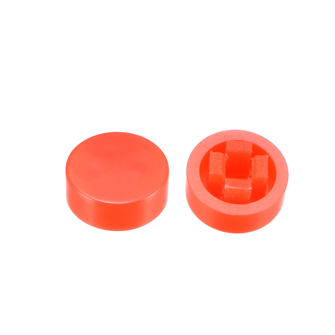 20Pcs Pushbutton Tactile Switch Caps Cover Keycaps Red for 6x6x7.3mm Tact Switch