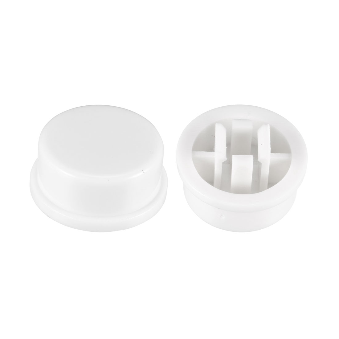 20Pcs 13x5.6mm Pushbutton Switch Caps Cover White for 12x12x7.3mm Tact Switch